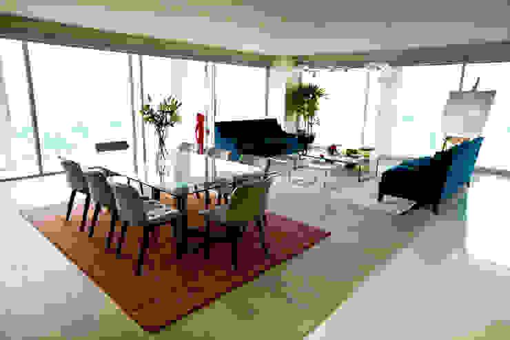 Phòng ăn phong cách chiết trung bởi MAAD arquitectura y diseño Chiết trung