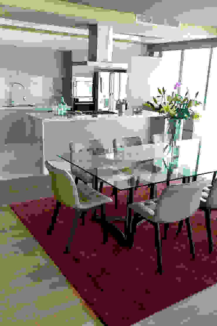 Ruang Makan Gaya Eklektik Oleh MAAD arquitectura y diseño Eklektik