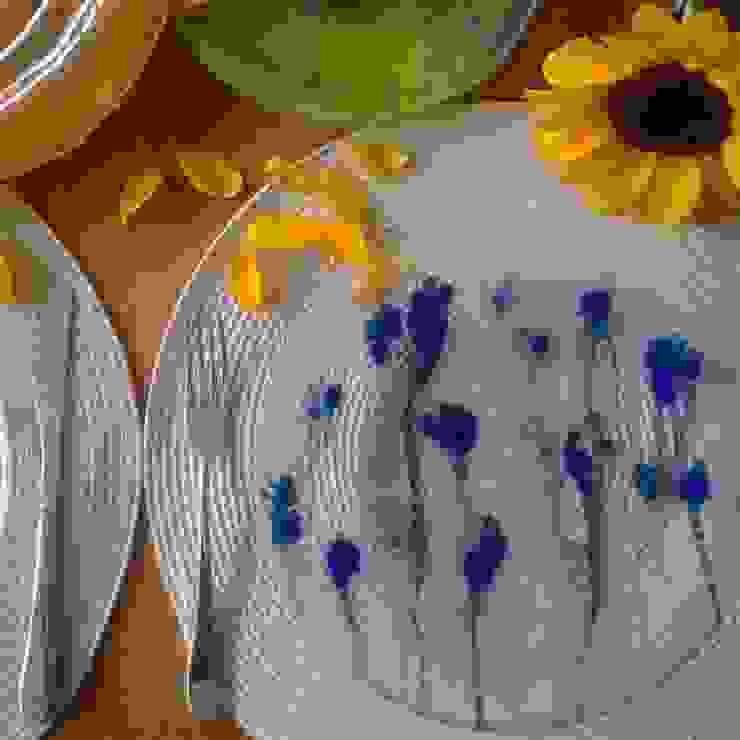 Platos a color Helena Acedo Vidrio CocinaVasos, cubiertos y vajilla