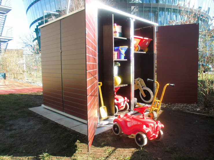 Garagem e arrecadação  por Garten-Q GmbH,