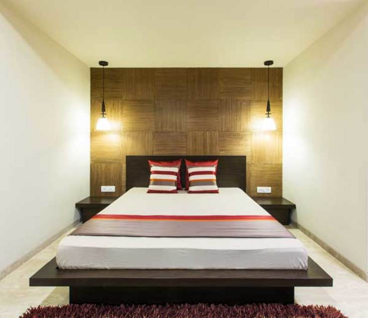 SARNAIK'S Modern style bedroom by Studio Vibes Modern