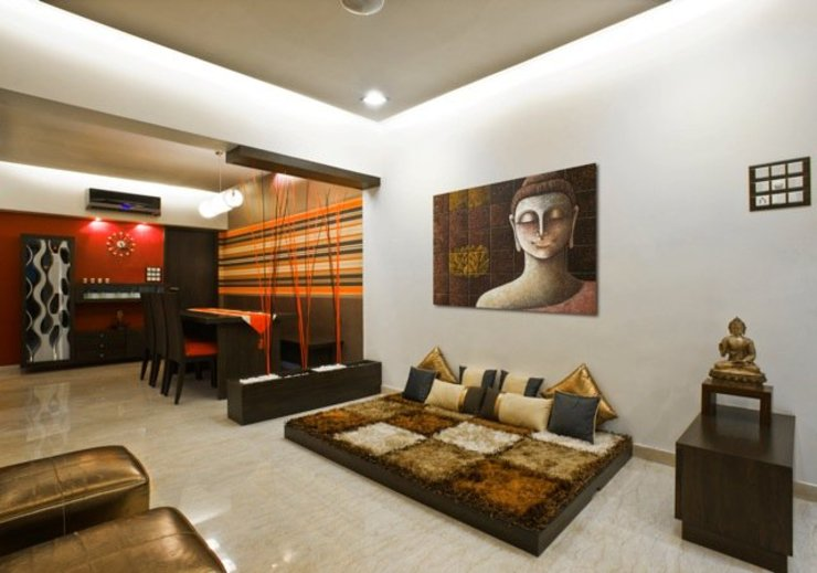 Salas de estar modernas por Studio Vibes Moderno