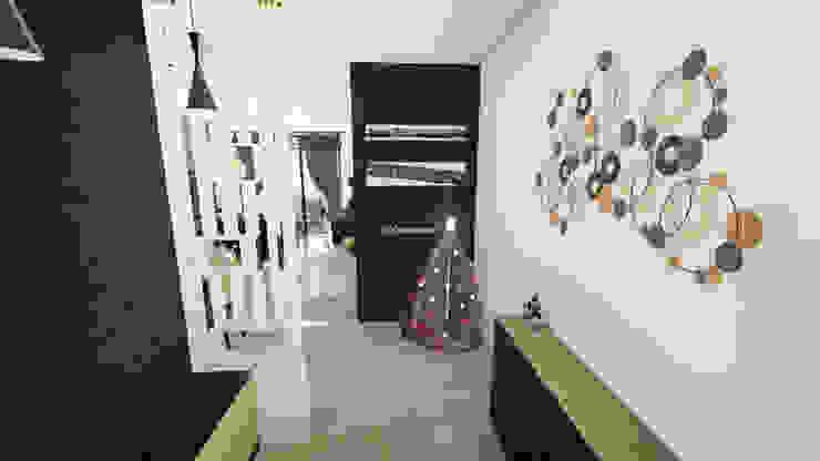 Residential Interiors Modern living room by Crush Mango Modern