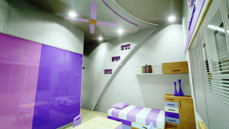 Residential Interiors Modern nursery/kids room by Crush Mango Modern