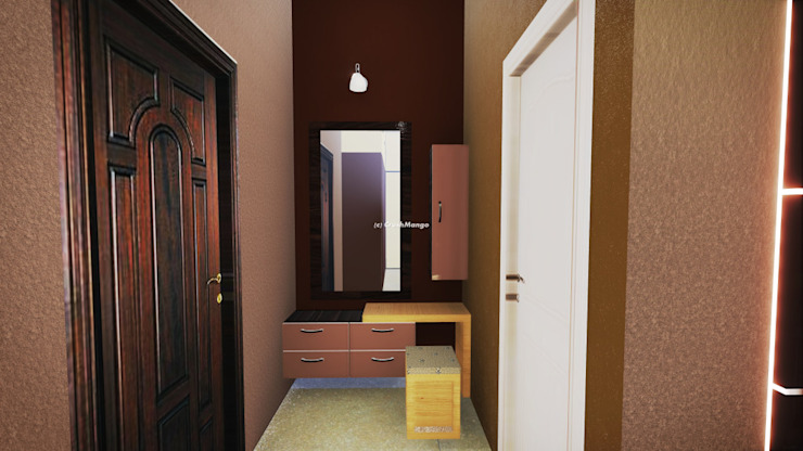 Residential Interiors Modern dressing room by Crush Mango Modern