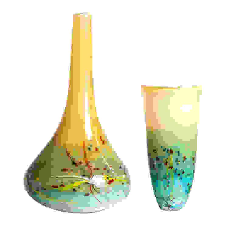 Línea de mesa vizz glass JardinesFloreros y macetas