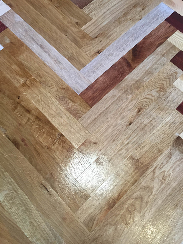 Hardwood flooring in Glasgow and Edinburgh : rustic  by TF, Rustic Engineered Wood Transparent