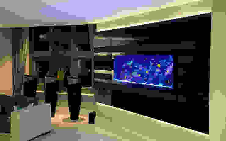 Richmond Residence Ruang Keluarga Modern Oleh Aquarium Architecture Modern