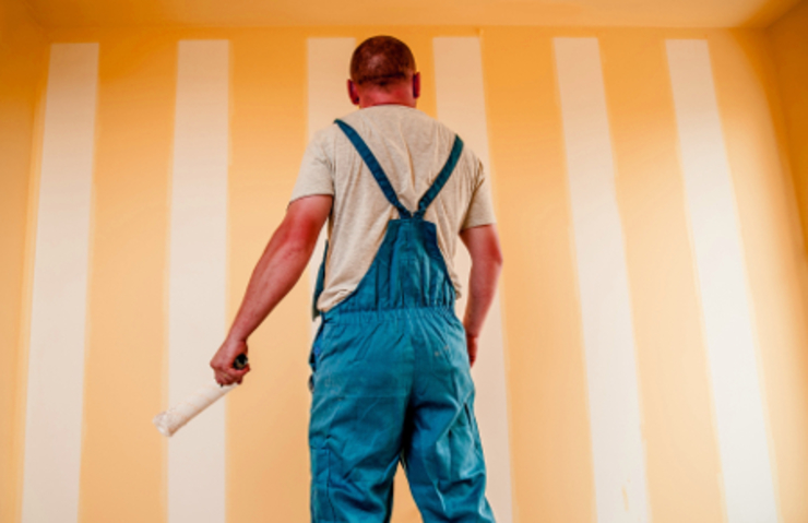 Professional painters من Builders Archway حداثي