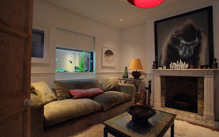 Sherlock House Aquarium Architecture Living room