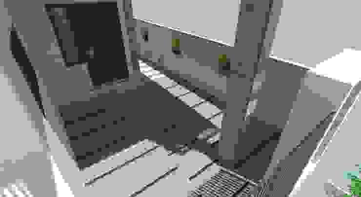 Interior Designs Modern balcony, veranda & terrace by riiTiH Architects Modern