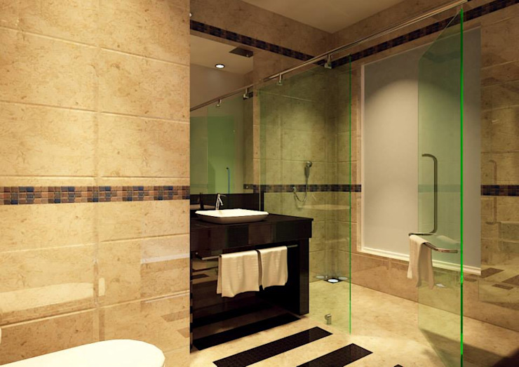 Interior Designs Modern bathroom by riiTiH Architects Modern