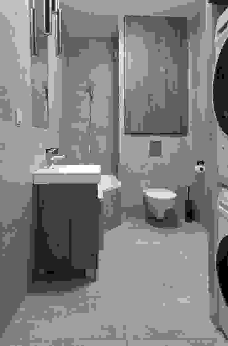 MIESZKANIE KATOWICE Nowoczesna łazienka od Projektowanie Wnętrz Agnieszka Noworzyń Nowoczesny
