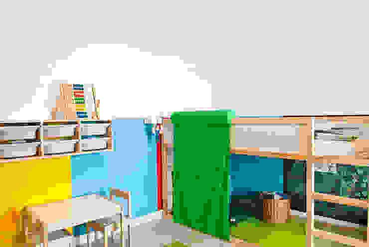 MIESZKANIE KATOWICE Nowoczesny pokój dziecięcy od Projektowanie Wnętrz Agnieszka Noworzyń Nowoczesny