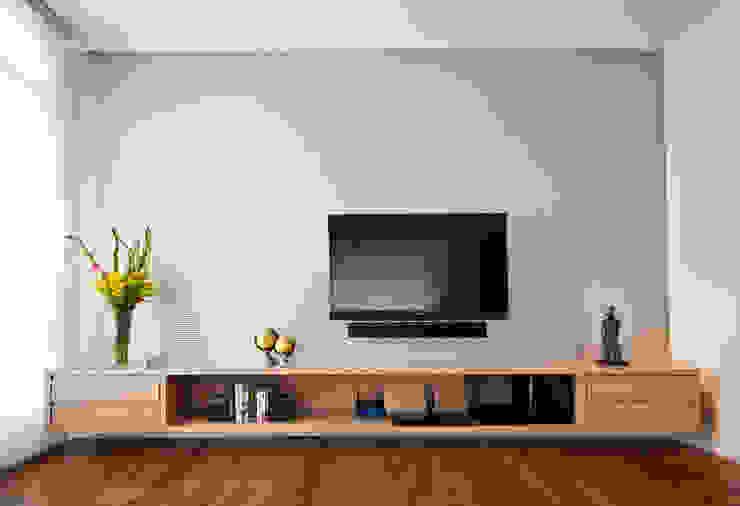 Apartamento Jardins Salas de estar modernas por MCC Arquitetura Moderno