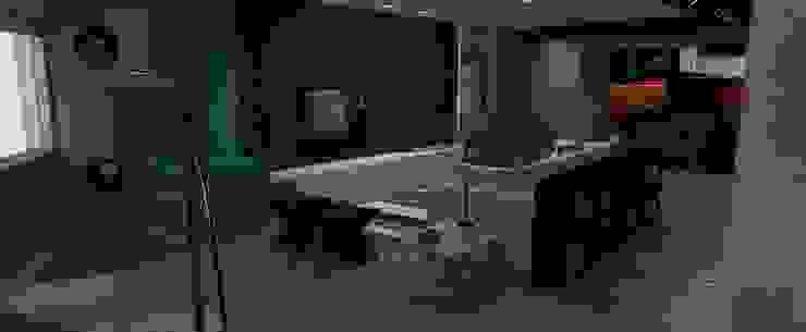 Estar social Salas de estar ecléticas por Studio 15 Arquitetura Eclético