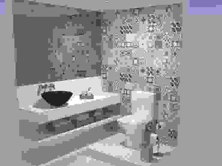 Lavabo Banheiros ecléticos por Studio 15 Arquitetura Eclético
