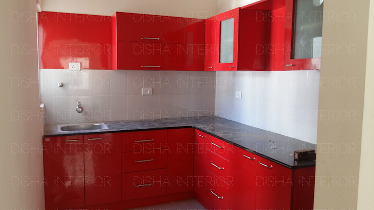 Kitchen Designs Modern kitchen by Disha Interior Modern