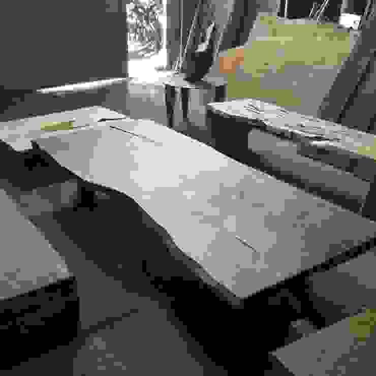 Mesas de madera de Diego Musadi Muebles Rústico