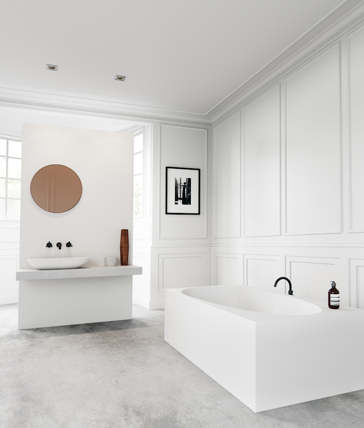 "Freistehende Badewanne ""WAIMEA"" by VALLONE® Vallone GmbH Moderne Badezimmer"