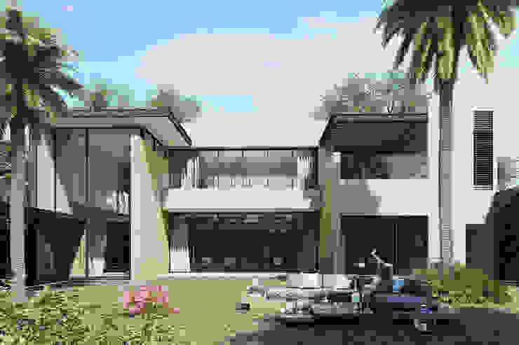 Casa Meseta Casas modernas de Grow Arquitectos Moderno