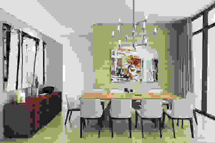 Casa Meseta Comedores modernos de Grow Arquitectos Moderno