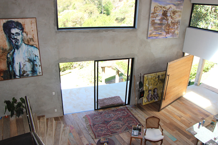 Salas de estar  por Carlos Salles Arquitetura e Interiores