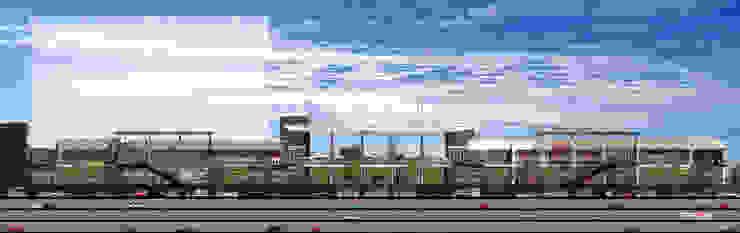 Vía Vallejo Balcones y terrazas modernos de Grow Arquitectos Moderno