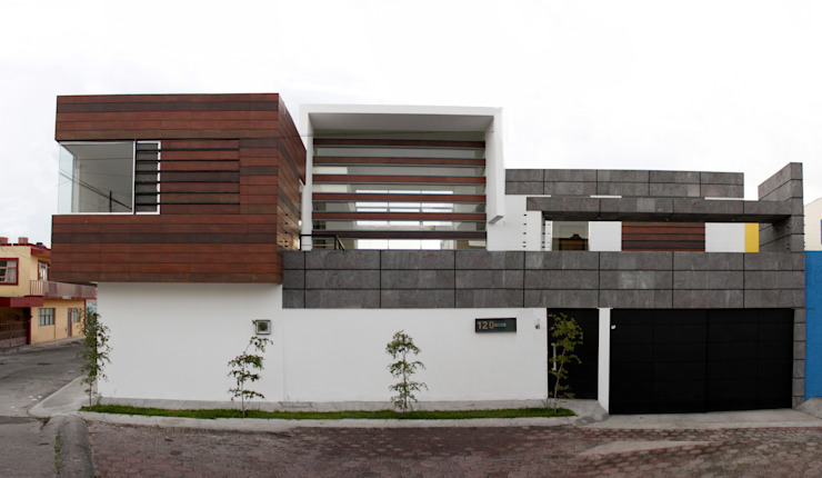 Houses by Arquimia Arquitectos, Modern