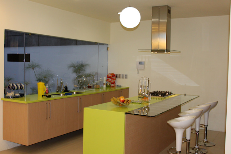 Casa J+S ARQUIMIA ARQUITECTOS Cocinas modernas de Arquimia Arquitectos Moderno