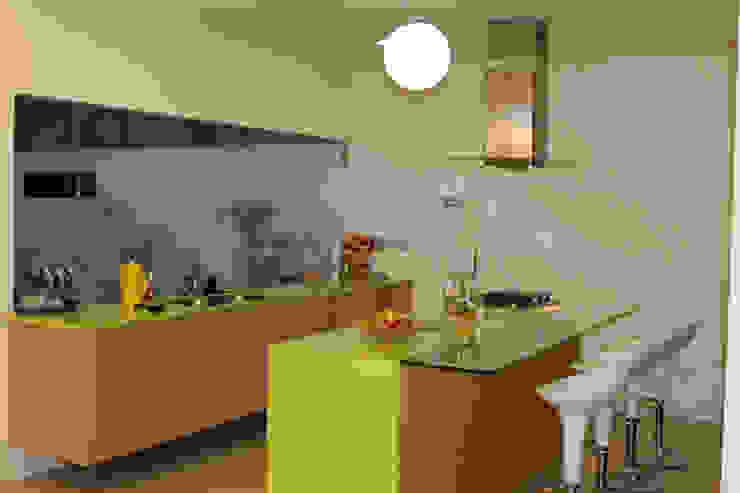 Casa J+S ARQUIMIA ARQUITECTOS Cocinas de estilo moderno de Arquimia Arquitectos Moderno