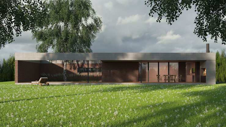 Casas modernas de D+D Studio Moderno