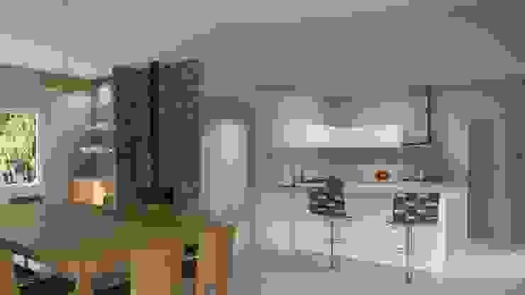 Casa Rodriguez Cocinas clásicas de D+D Studio Clásico