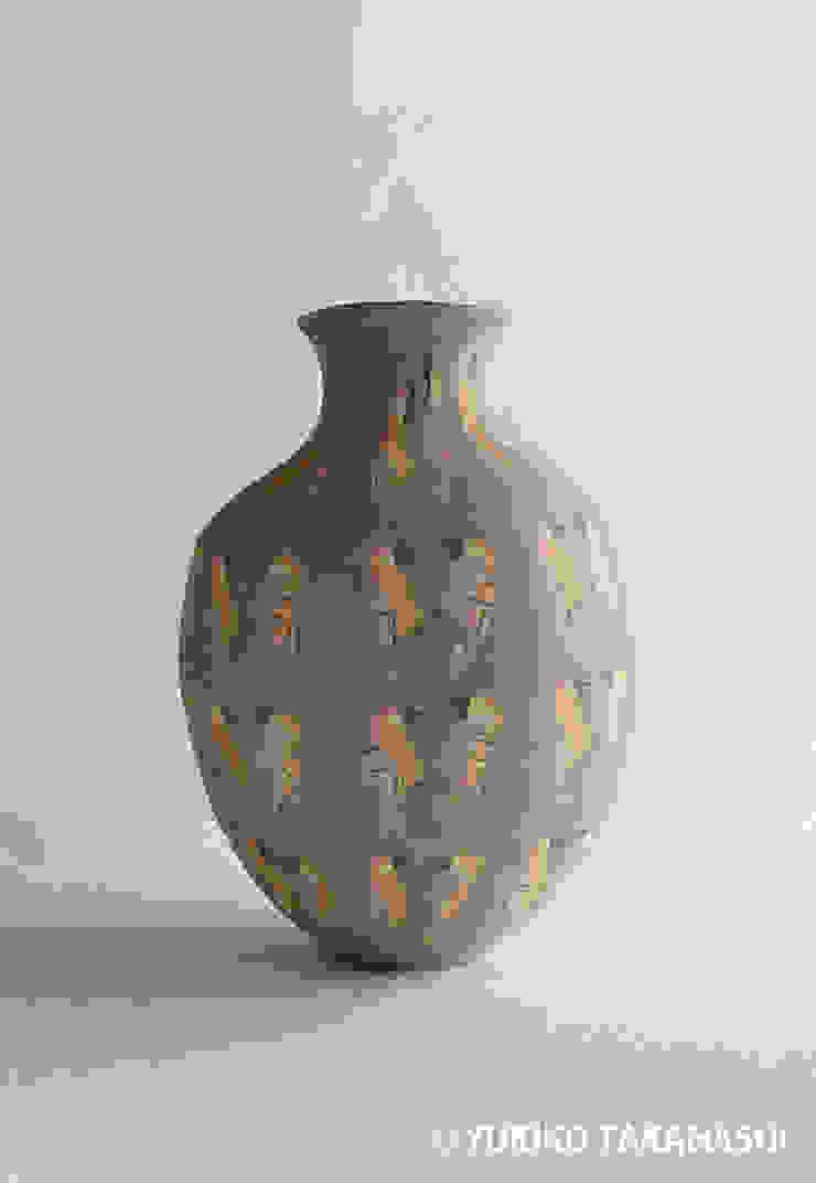 オウムツボ: 高橋由紀子が手掛けた折衷的なです。,オリジナル 陶器