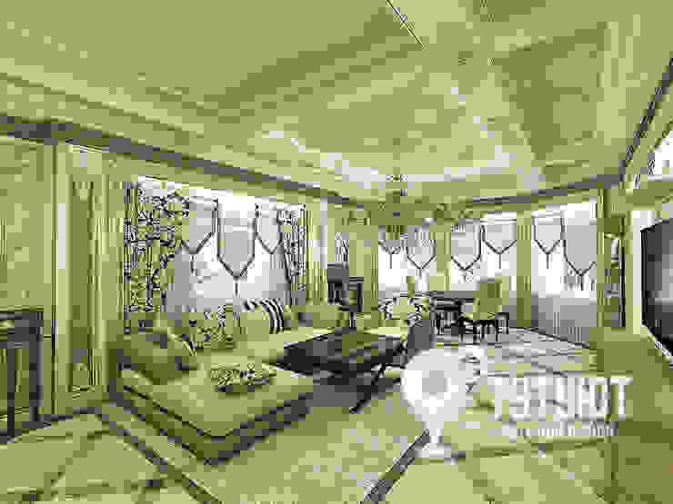 Гостиная для настоящего эстета Гостиная в классическом стиле от Interior Design Studio Tut Yut Классический