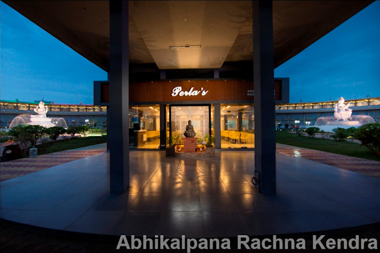 Facade1 Minimalist hotels by ARK Architects & Interior Designers Minimalist