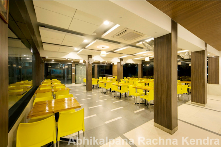 Food Court Minimalist hotels by ARK Architects & Interior Designers Minimalist