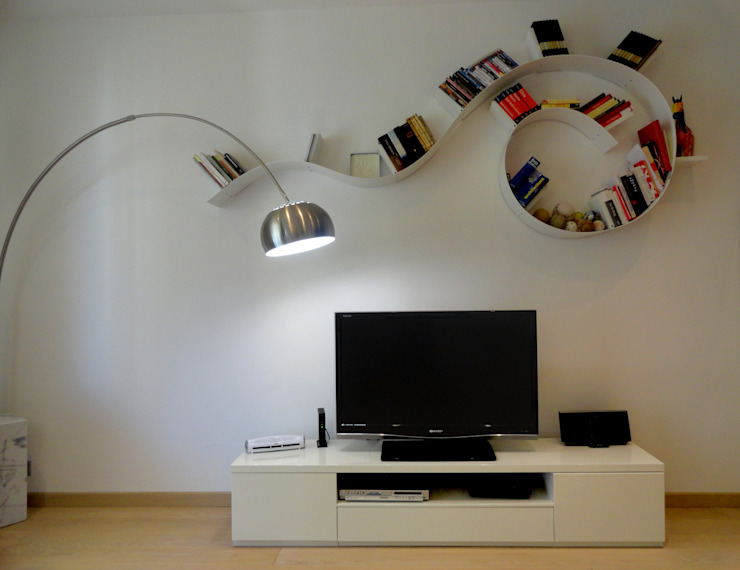 Modern living room by The Creative Apartment Modern Wood Wood effect