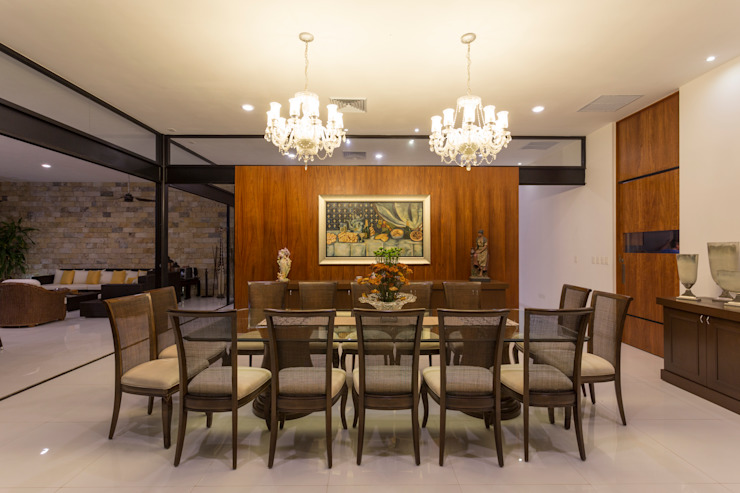 Modern Dining Room by P11 ARQUITECTOS Modern