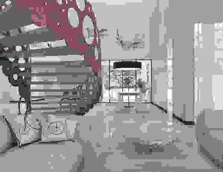 Salas de jantar modernas por UTOO-Pracownia Architektury Wnętrz i Krajobrazu Moderno