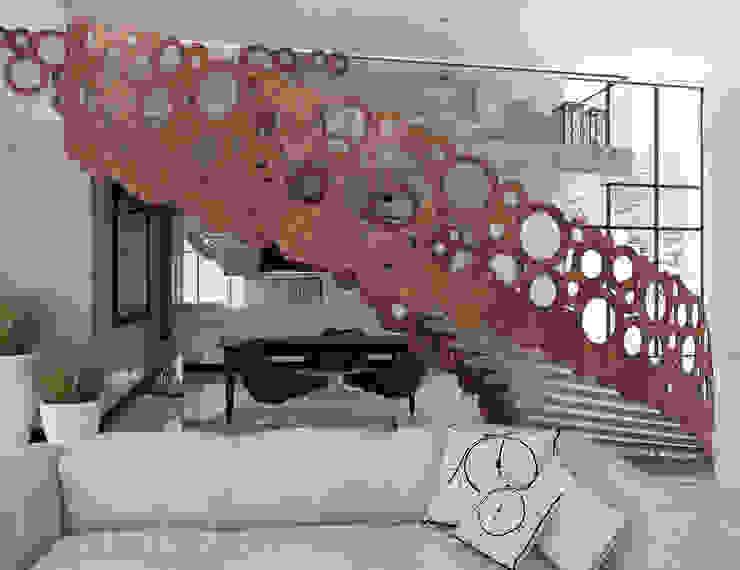 Corredores, halls e escadas modernos por UTOO-Pracownia Architektury Wnętrz i Krajobrazu Moderno