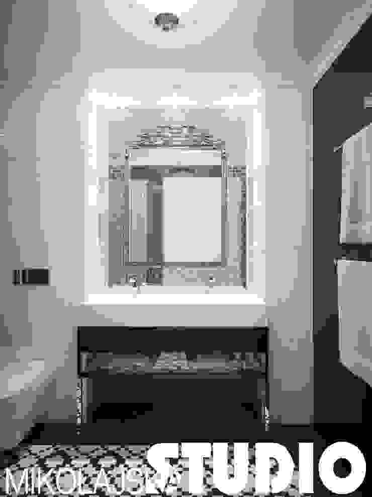 łazienka-glamour-style od MIKOŁAJSKAstudio