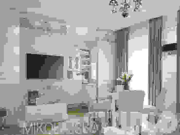new glamour style apartment od MIKOŁAJSKAstudio