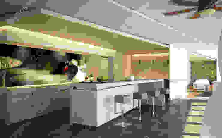 Baskılı Mutfak Fayansları Modern Mutfak FayansArt Modern Seramik