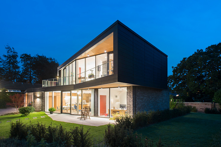 Villa U Scandinavian style houses by C.F. Møller Architects Scandinavian Metal