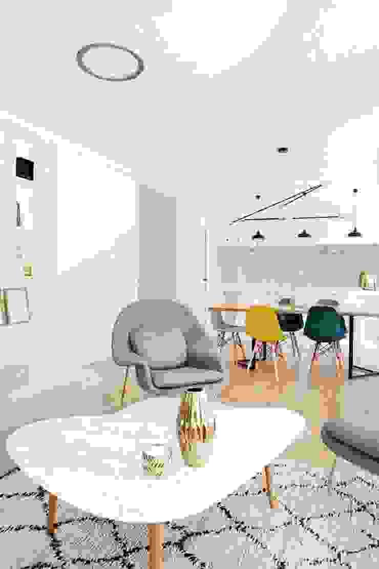 T3 Lisbon Luxury Apartment Salas de estar modernas por EU LISBOA Moderno