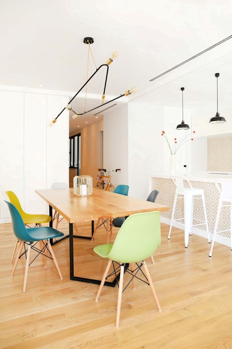 T3 Lisbon Luxury Apartment Salas de jantar modernas por EU LISBOA Moderno