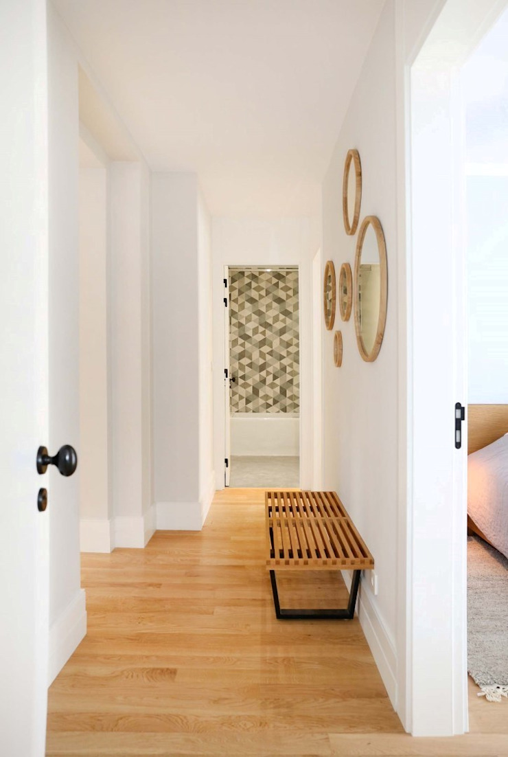 T3 Lisbon Luxury Apartment Corredores, halls e escadas modernos por EU LISBOA Moderno