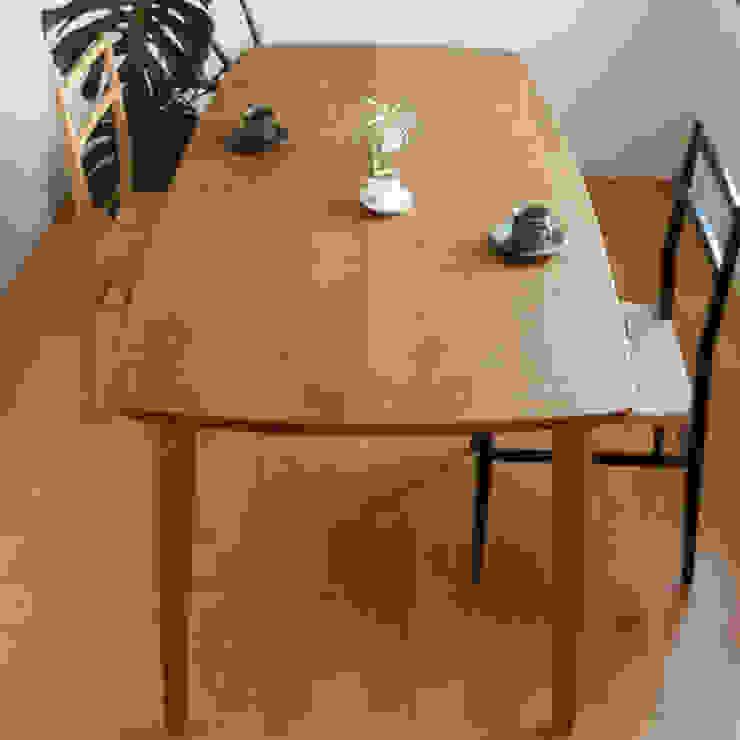 ダイニングテーブル DT02: wood works GLOBEが手掛けた現代のです。,モダン