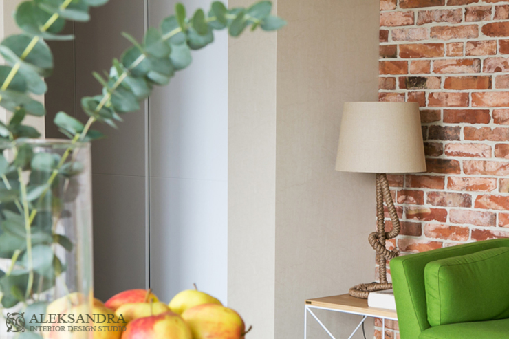 salon Eklektyczny salon od ALEKSANDRA interior design studio Eklektyczny